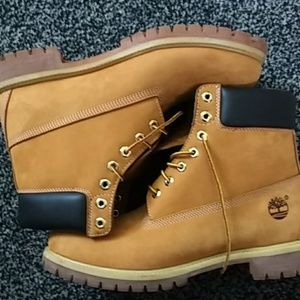 Timberland Boots 6 inch Wheat